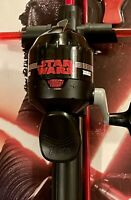 Zebco Disney Star Wars Kylo Ren Fishing Rod Spincast Combo New NIB Child Size
