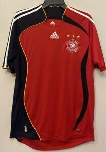 Adidas Germany Deutscher Fussball-Bund Vintage Soccer Football Jersey Kit Medium