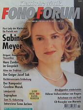 Fono Forum 11/96 MARANTZ CDR 6157620, Rogers e-20α/e-40α, Sena Jurinac, J. Suk