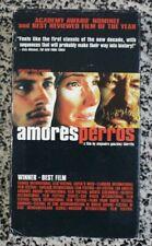 Amore Perros Vhs 2000 Gael Garcia BernalAlejandro González Iñárritu Crime Drama