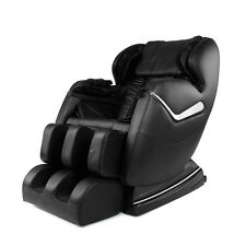 Electric Full Body Shiatsu Massage Chair Recliner Heat Stretched Foot Rest Black