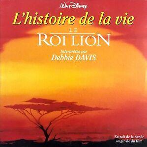 Debbie Davis CD Single L'Histoire De La Vie - France (EX/EX)