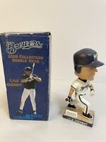 Lyle Overbay 2005 Milwaukee Brewers White Jersey SGA Bobblehead