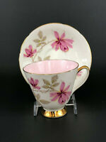 vintage Old Royal bone china cup & saucer #3705, England  c.1930 - 1941