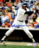 Reggie Jackson Signed New York Yankees Batting 8x10 Photo - JSA COA