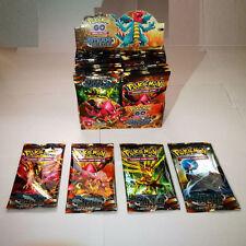 324pcs Pokemon Cards TCG Box Break Point (Gold Card) per 36Packs Kid Xmas Gifts