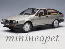 AUTOart 70147 1980 ALFA ROMEO ALFETTA GTV 2.0 1/18 DIECAST MODEL CAR SILVER GREY