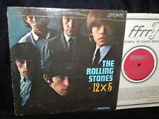 THE ROLLING STONES 12X5 LONDON RECORDS LL3402 FULL FREQUENCY RANGE RECORDING