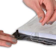 Lot de 100 enveloppes plastiques blanches opaques - 7 formats au choix
