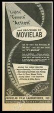 1954 Movielab Film Laboratories movie print processing trade print ad