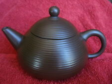 Vintage Chinese Unique WELL FED ~ TAO 道 Tai Chi 太極 Zisha Tea Pot 中國進興 Stamped