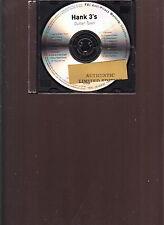 hank 3's limited edition 4x cd hank williams III