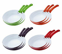 Non Stick Ceramic Frying Pan Set & Single 20cm 24cm & 28cm Rb1004 Frying Pan