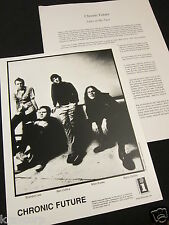 CHRONIC FUTURE 'LINES IN MY FACE' 2004 PRESS KIT--PHOTO