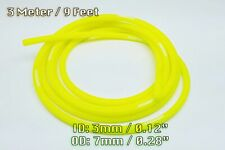3 METRE Neon Yellow SILICONE VACUUM HOSE AIR ENGINE BAY DRESS UP 3MM Fit US Car