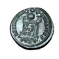 #3999 - RARE - Romaine Constantin I Nummus Autel Londres - FACTURE
