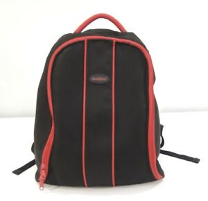 Baby Bjorn Active Backpack Diaper Bag Red Black Insulated Pockets Padded Strap