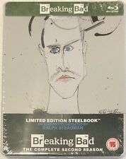 Breaking Bad: The Complete Second Season Steelbook - UK Exclusive Ltd Blu-Ray