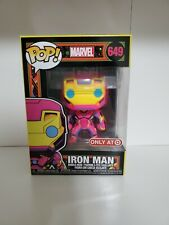Funko POP! Marvel: Black Light Iron Man 649