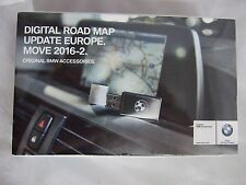 Genuine BMW Road Map Update Europe Move 2016-2 USB