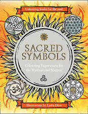 Sacred Symbols Colouring Books for the Soul NEW BOOK by Lydia Hess (H/B 2015)