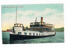 """schöne alte AK :Amsterdam -Zaandam - die """" Zaandam II """"- Karte ist 1912 gelaufen"""