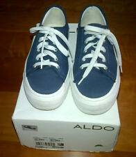 Aldo wedge ladies sneakers in navy blue-size 38