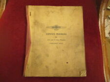 David Brown Lagonda 2.6 & 3-litre Manual de mantenimiento (Temporal Edición)