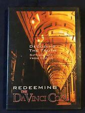 Redeeming The Da Vinci Code (Dvd, 2006, Probe Ministries, EvanTell) - Sealed