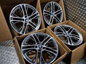 "Genuine BMW X3 X4 310M 20"" Alloy Wheels 310 M Sport Performance F25 F26 REFURBED"