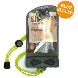 Aquapac Keymaster Waterproof wallet pouch for Keys cash cards inhalers 608