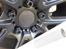 4x Cerchi in Lega Cerchioni Mozzi Coperchio Pellicola Progettazione Bianco OPACO