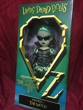 Living Dead Doll The Wizard Of Lost In Oz Variant Green Walpurgis Witch Glasses