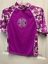 Surf Diva Girls Size Large Top Tank For Surfing Diving Pink Coolies E1-949