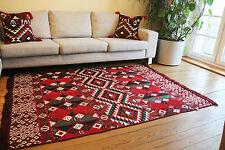 Carpet 135x200 cm,4,5'x6,5' ,Area Rug oriental,Floor mat,Kelim Damaskunst 1-4-17