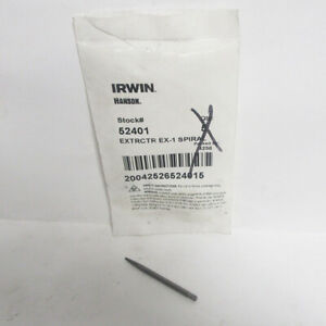 IRWIN SCREW AND BOLT EXTRACTORS