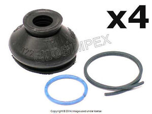 Mercedes (1956-1995) Tie Rod Ball Joint Boot Kit (4) GENUINE OEM NEW + WARRANTY