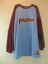 Nike Philadelphia Phillies Baseball Schmidt 20 Long Sleeve Shirt Sz 3XL