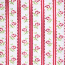 Freespirit Lulu Roses LILAH Cotton Fabric - RED - £10.00 per M - Free P&P