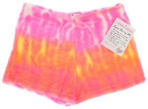 Fuzzy Pajama Shorts Tie Dye Emme Jordan Junior Sleepwear Loungewear