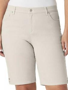 Womens' GLORIA VANDERBILT AMANDA Classic Rise Bermuda Shorts Size 24W NWT
