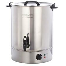 More details for cygnet boiler catering large 30l litre hot water tea urn - stainless steel new