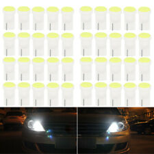 100Pcs T10 COB Car LED Bulbs W5W 168 194 Side Plate License Decor White Light