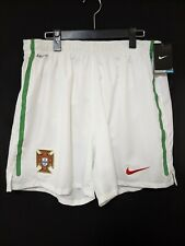 2010-11 Portugal National Team Home Football Shorts Soccer XL