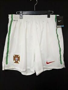 2010-11 Portugal National Team Home Football Shorts Soccer XL Nike