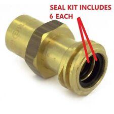 6 Propane Tank Cylinder Connector Coupler Seal Kit Forklift Rego Gasket O Ring