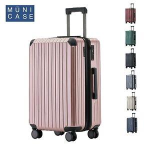 Münicase M816 TSA-Schloß  Reisekoffer Trolley Kofferset Hardschale Boardcase