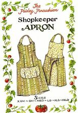 Shopkeeper Apron pattern by the Paisley Pincushion