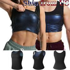 Women & Man Men Body Sweat Shaper Sauna Vest Slimming Gym Yoga Sports Thermal