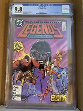 LEGENDS #1 (Nov 1986, DC) 1st Appearance Of Amanda Waller CGC 9.8